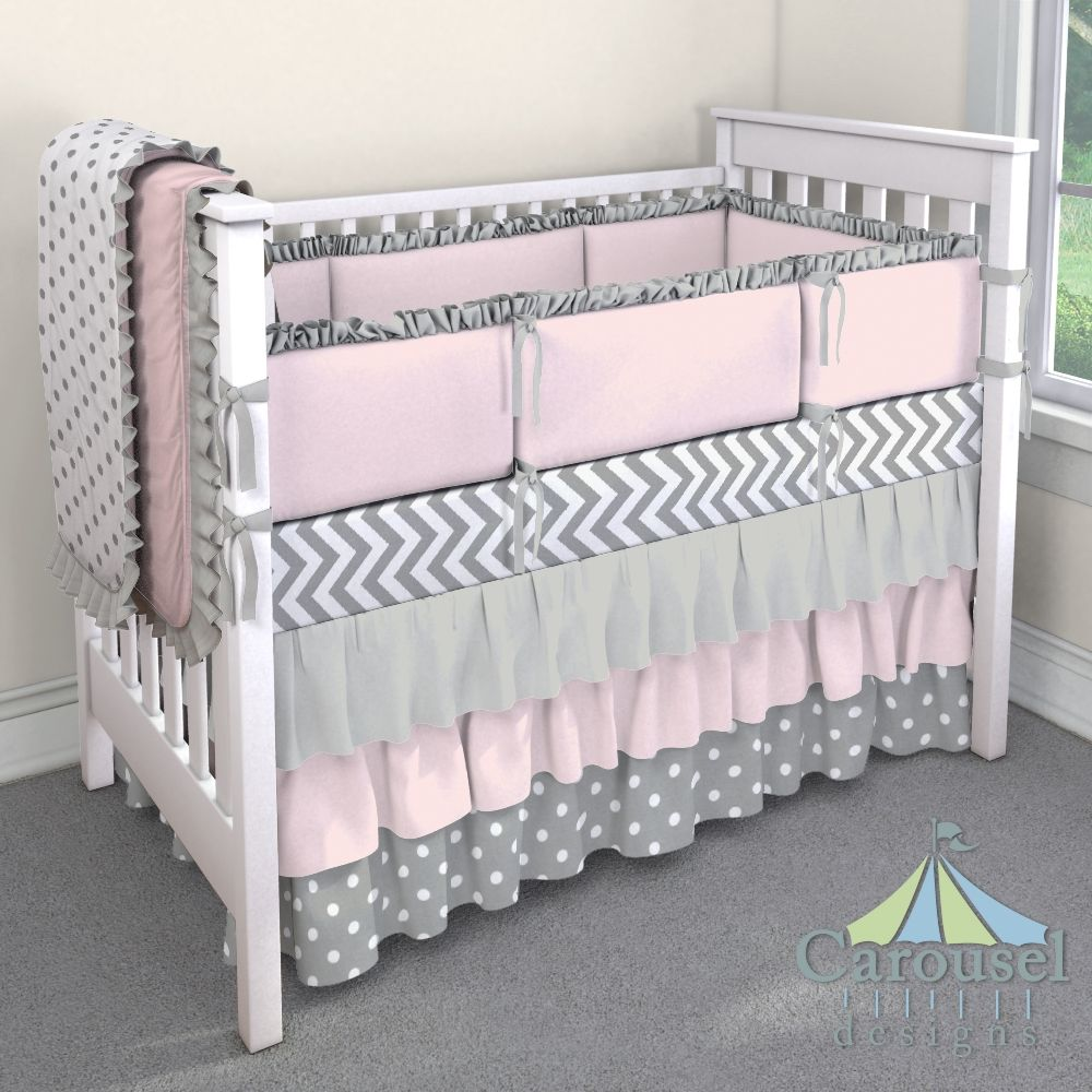 Custom Nursery Bedding (With images) Crib bedding girl