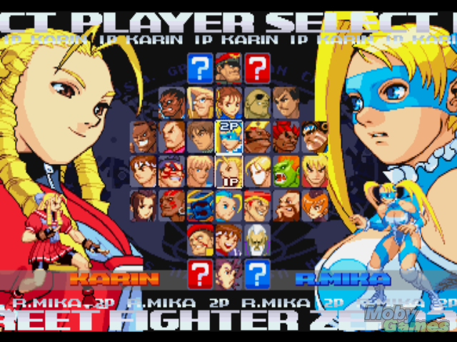 Street Fighter Alpha 3 Character Select Screen Fighting Games Street Fighter Alpha Street Fighter Characters