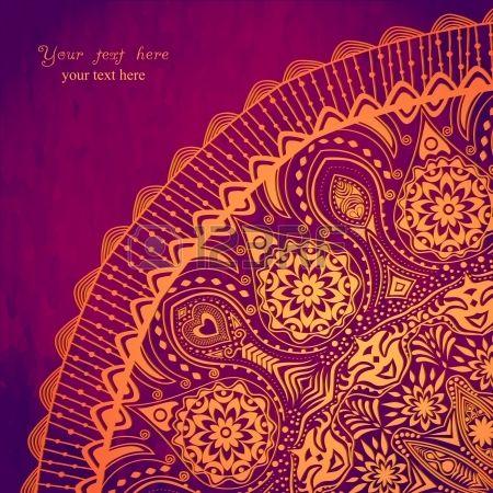 Vintage Invitation Card On Grunge Background With Lace Ornament Vintage Invitations Invitation Cards Hindu Wedding Decorations