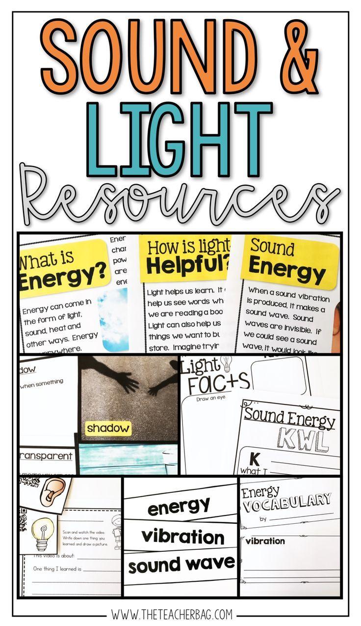 Sound and Light A Nonfiction Unit Next generation