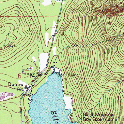 See The Topo Map Of Silver Lake Park A Park In Whatcom County