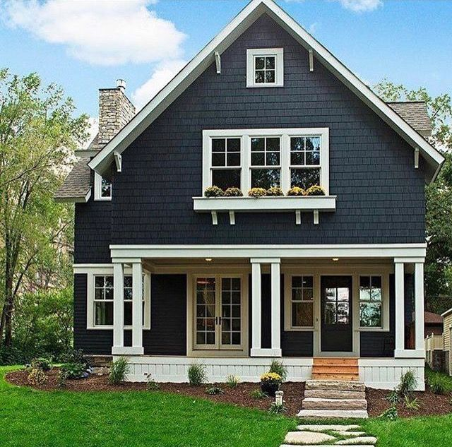 Dark color i 39 m searching for good color schemes in - Good color combinations for house exterior ...