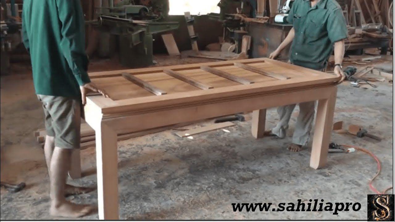مهارات بناء مذهلة في خشب النجار المختلط اصنع طاولة طعام Coffee Table Pallet Coffee Table Pallet Table