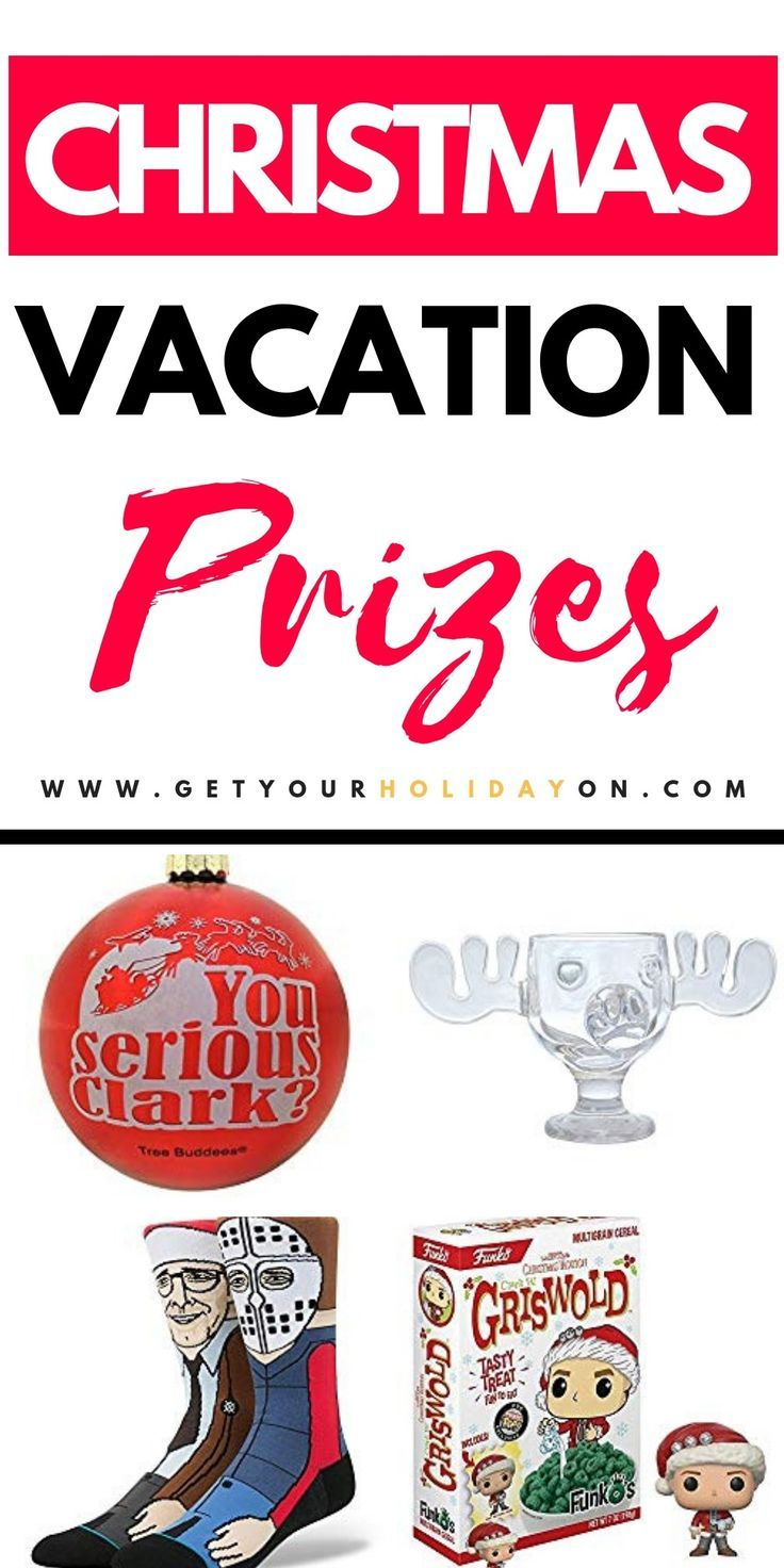 Best Christmas Vacation Prizes & Gifts