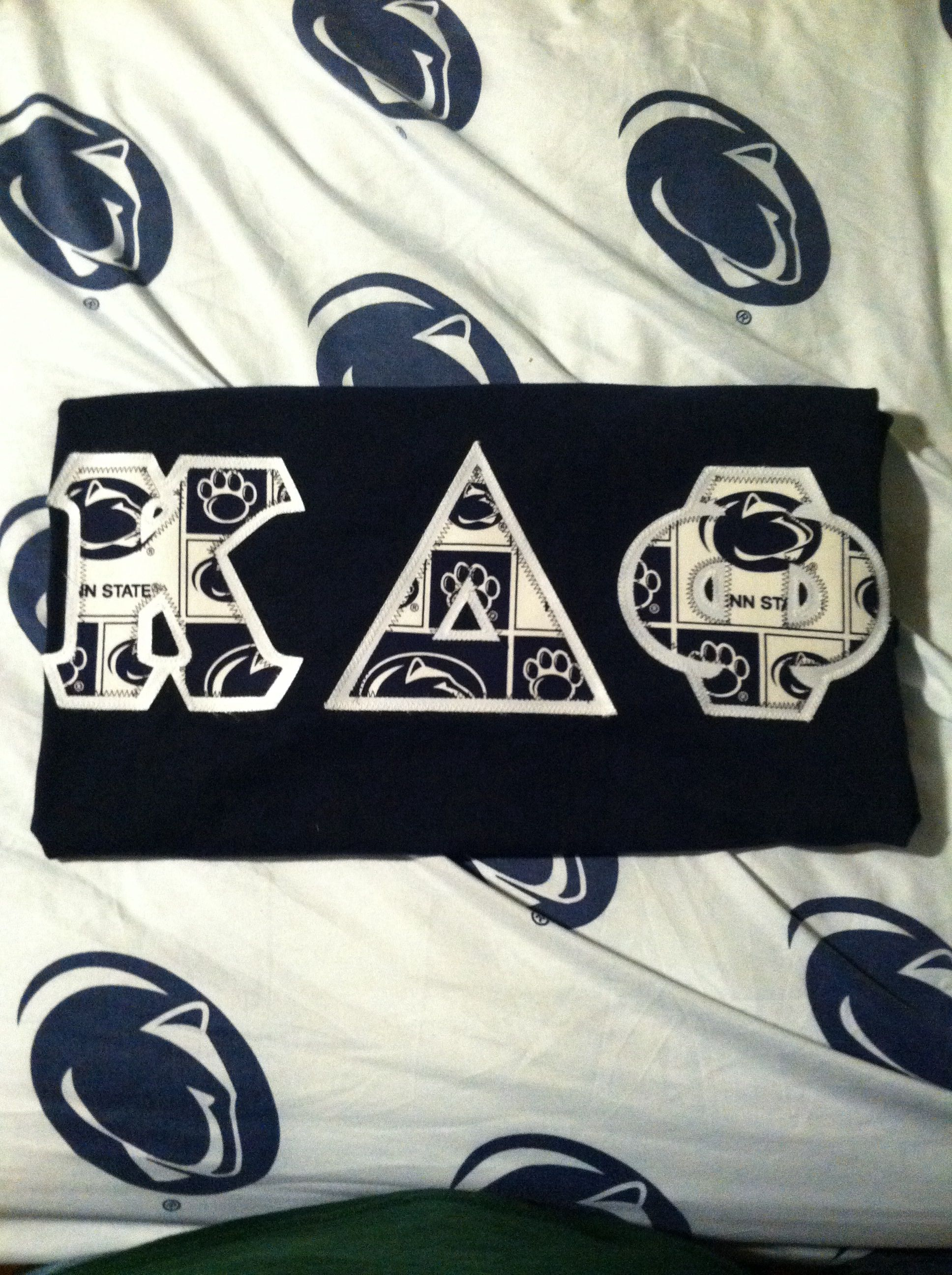 Penn State ΚΔΦ letters.