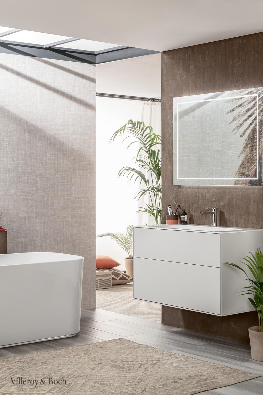 Go For Plants In Your Bathroom Villeroy Boch In 2020 Bad Inspiration Badezimmer Design