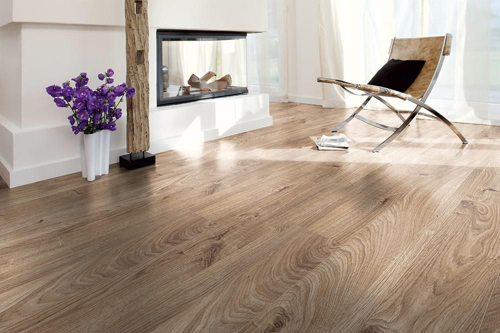 Laminat wohnzimmer modern  BuildDirect – Laminate - 12mm Mammut Collection – Everest Oak ...