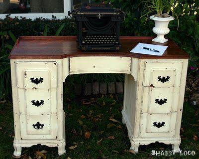 One more Vintage desk  :)