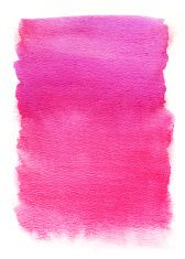 Vector Bright Pink Watercolor Texture Vector Hand Drawing Pink