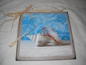Gifts From the Sea Swirl Shell Wooden Beach House Wall Art Sign Bathroom Decor Summer by The Little Store Of Home Decor, http://www.amazon.com/dp/B0084747HI/ref=cm_sw_r_pi_dp_SDAasb19HQVEX