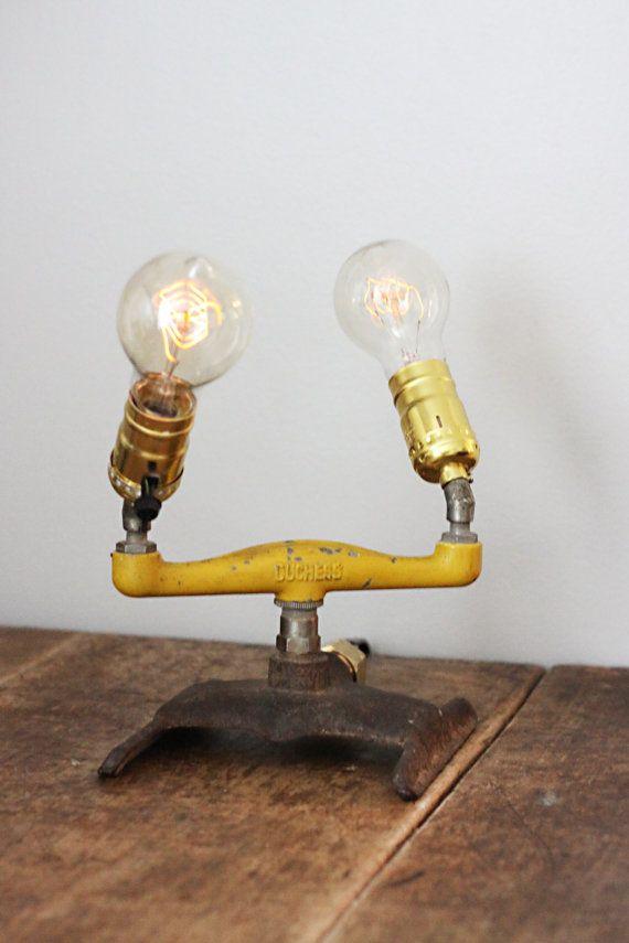 Vintage Sprinkler Light Steampunk Lighting Vintage Lighting Light