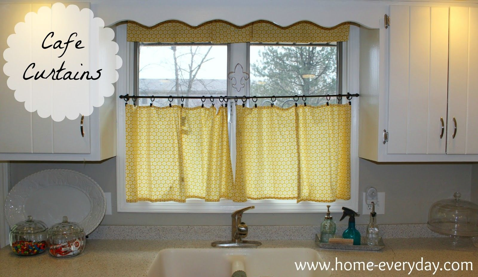 Cafe curtains for bedroom found some cute yellow cloth napkins fresh