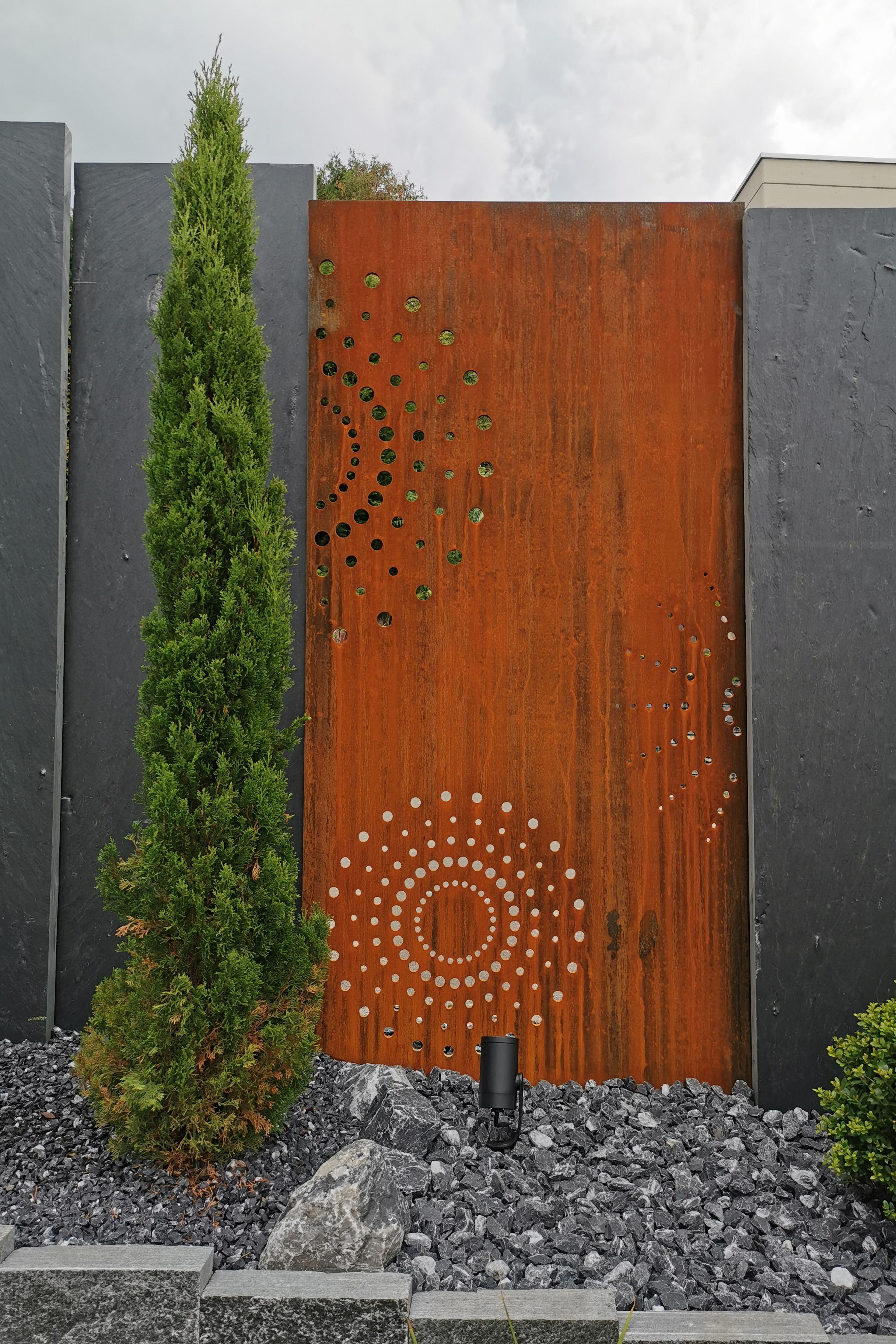 Pin Von Taaroagarten Auf Muro Sichtschutzwande Sichtschutzwand Garten Gartendesign Ideen Sichtschutz Garten