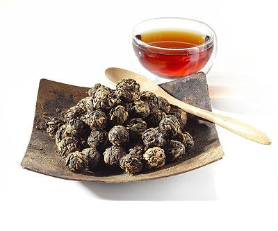 Black Dragon Pearls Black Tea - love this black tea - great flavor & easy to measure since its in little balls - black tea great for the am when I want a bit more caffiene than some of the other teas