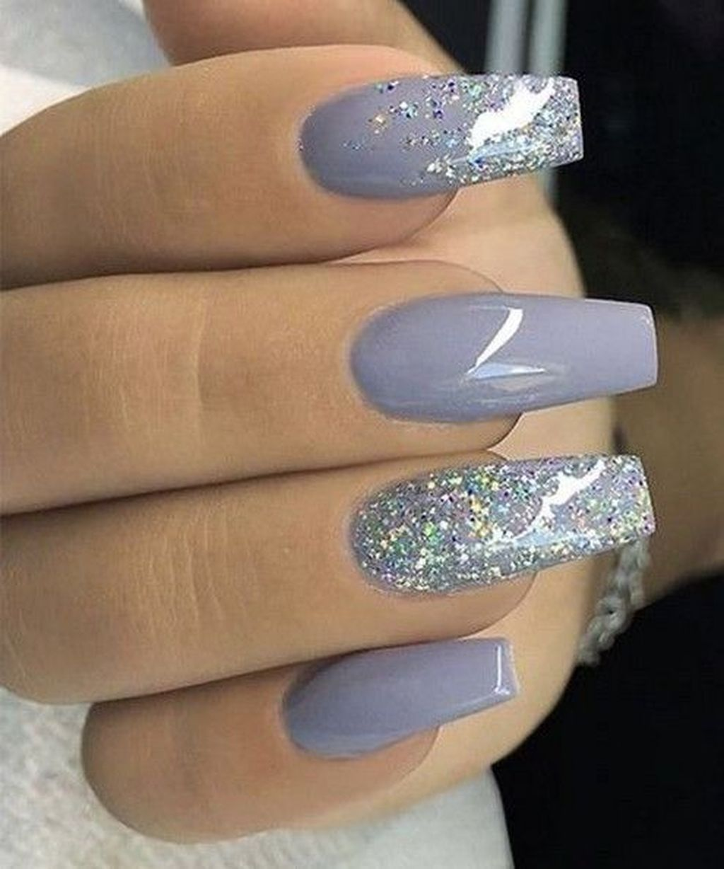 30 Inspiring Winter Nails Color Trend 2019 Winter Nails Acrylic Nail Color Trends Nail Colors Winter