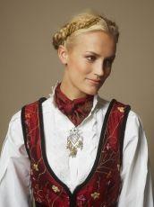 Photo of Hundreårsdrakte dame