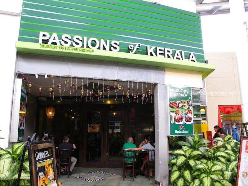 Passion of Kerala, New World Park, Penang Kerala