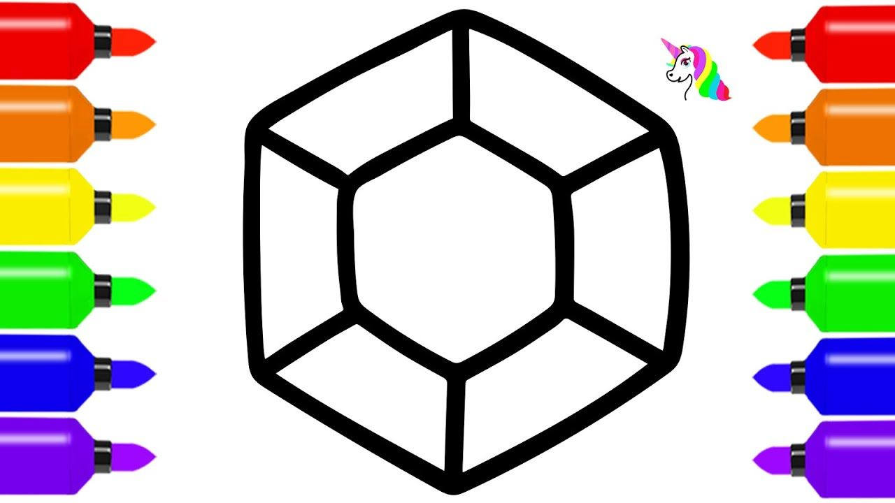 50+ Diamond coloring page for toddlers info