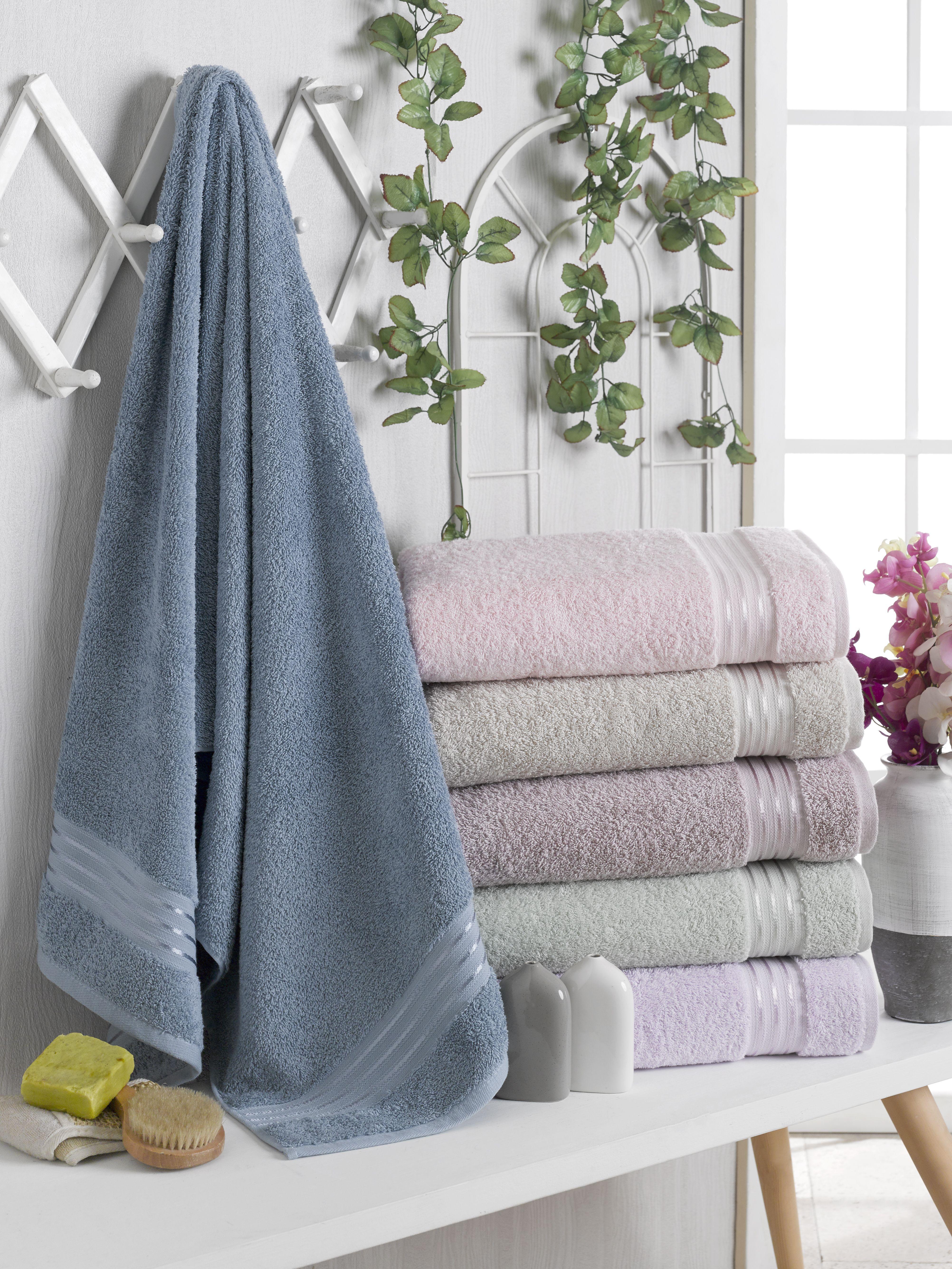 مناشف استحمام مفردة فندقية قطن 100 Towel