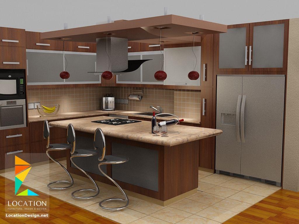 ديكور مطبخ اشكال و الوان مطابخ 2018 2019 American Kitchen Design Functional Kitchen Design Kitchen Design