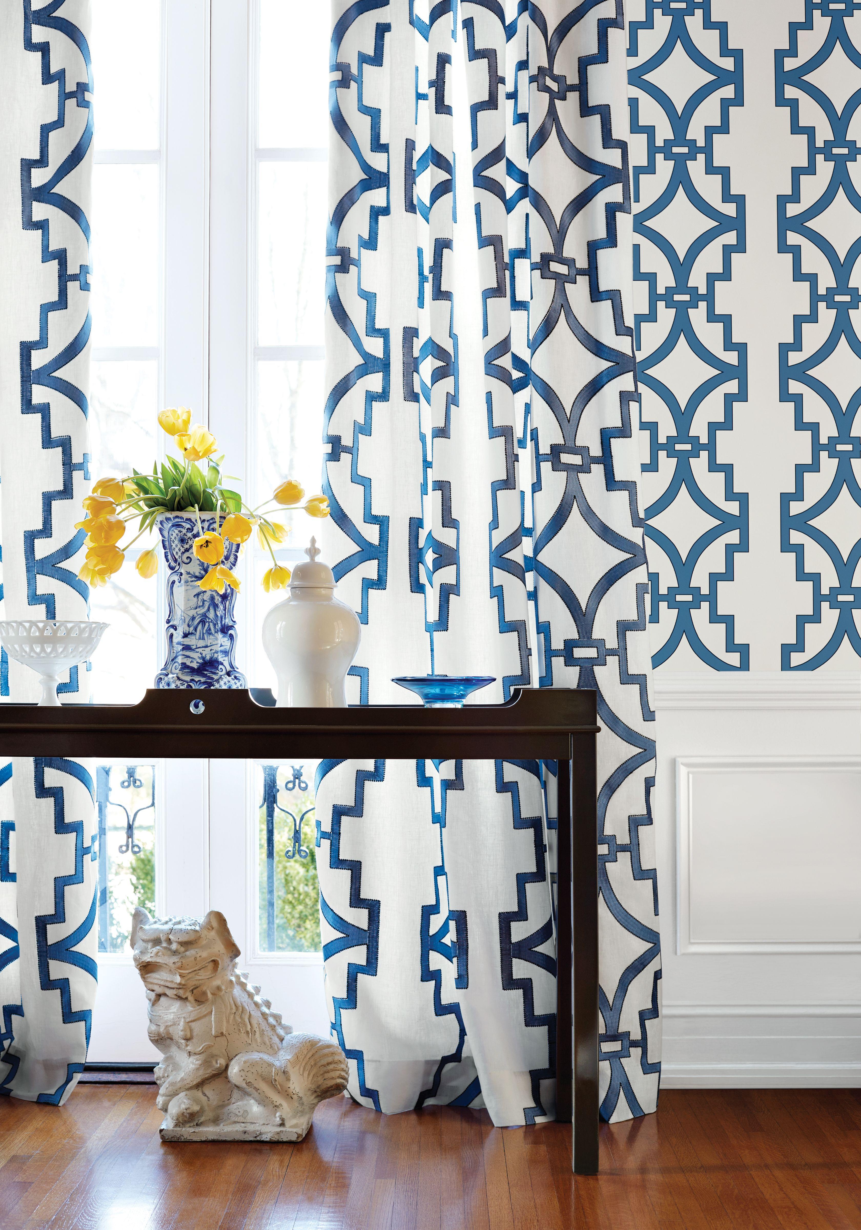Thibaut enchantment love the pattern. Thibaut