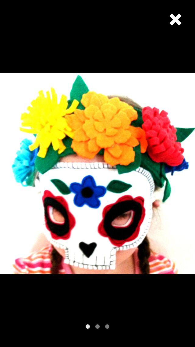 De los muertos mask