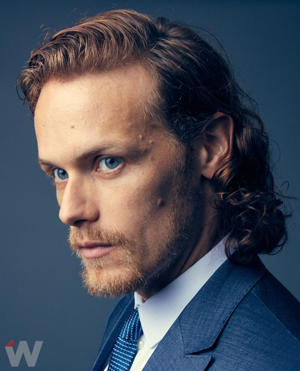 Portraits of Sam Heughan from The Wrap