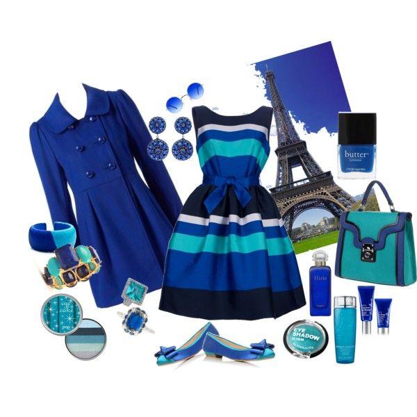 Paris Sky Blue, created by mzmarna on Polyvore