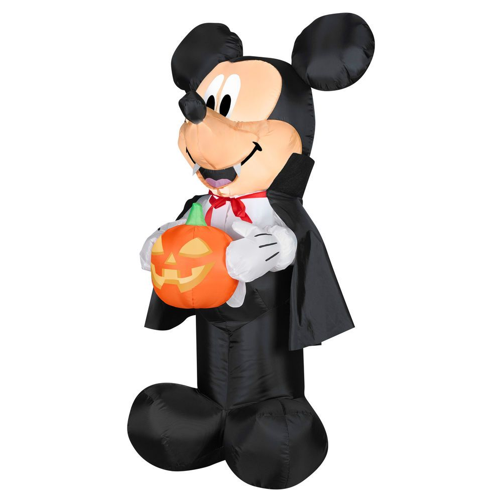 Airblown Vampire Mickey Halloween Decoration Blow Up Yard