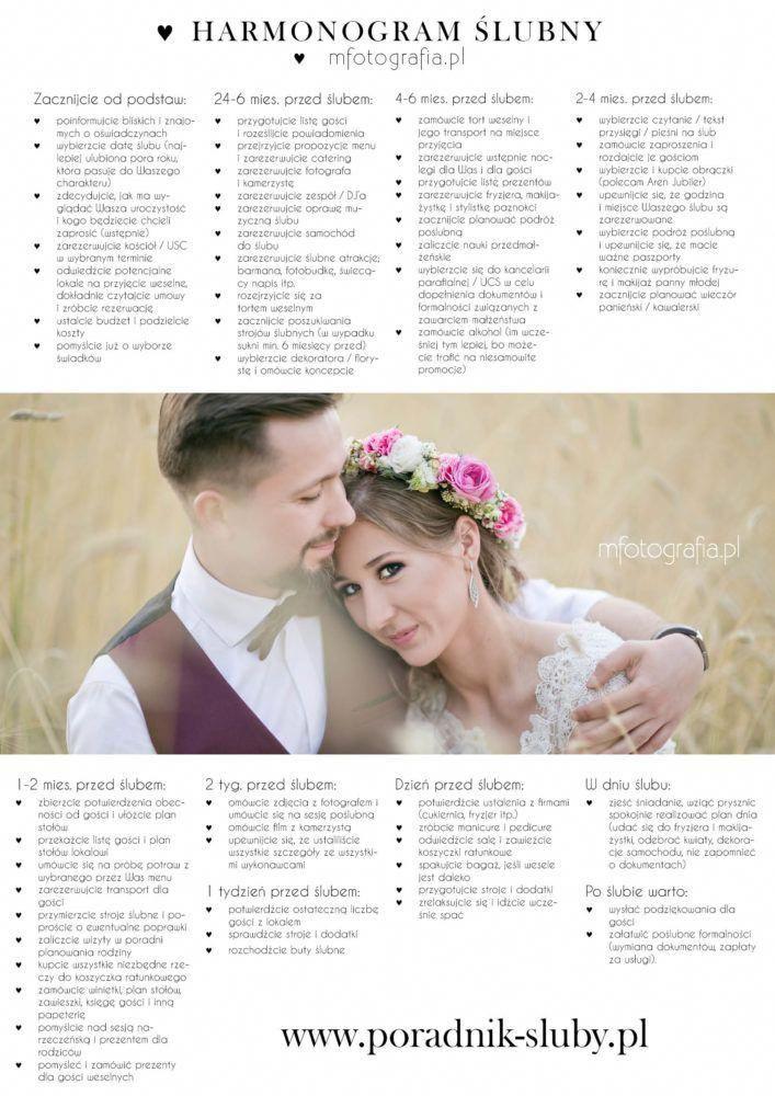 Przygotowania Do Slubu I Wesela To Ogrom Spraw O Ktorych Trzeba Pamietac Dlatego Przygotowalam Dla Was Harmonogr Glamorous Wedding Wedding Cute Wedding Ideas