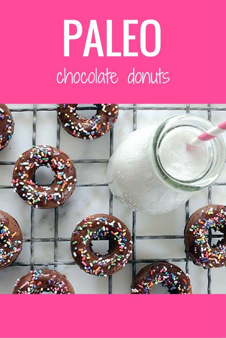 Chocolate Donuts | Recipe | Chocolate donuts, Paleo chocolate and ...