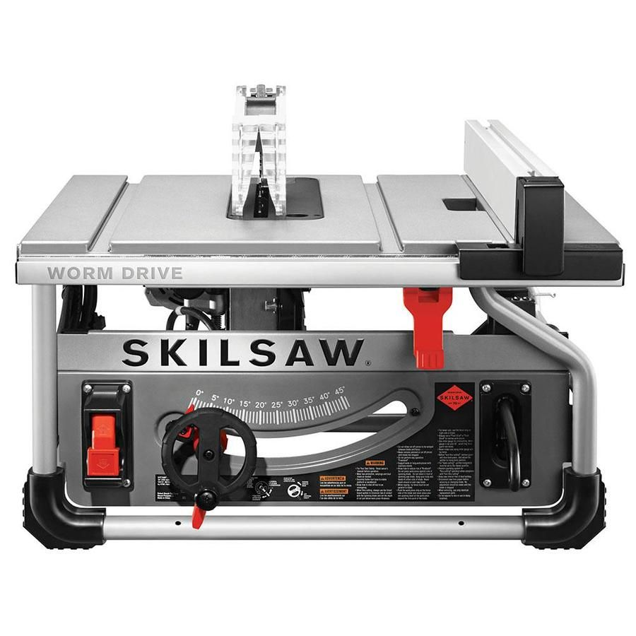 Skilsaw 10 In Carbide Tipped Blade 15 Amp Table Saw Spt70wt 01 In 2020 Skil Saw Best Table Saw Table Saw