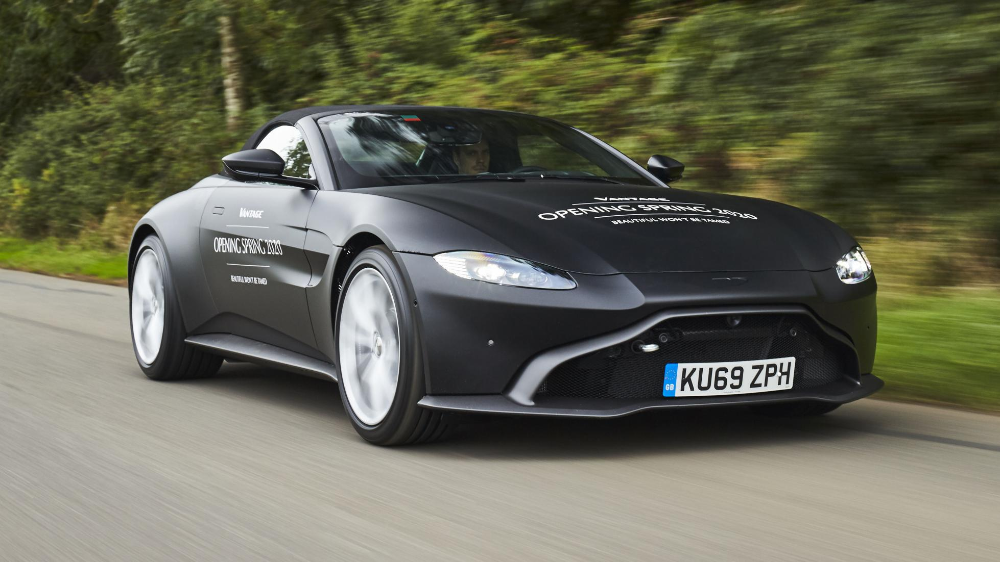 Here's your first official look at the new Aston Vantage