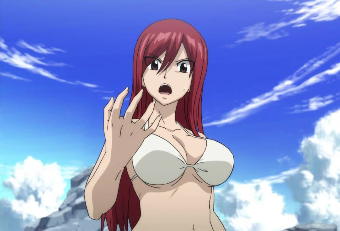 Erza scarlet bikini
