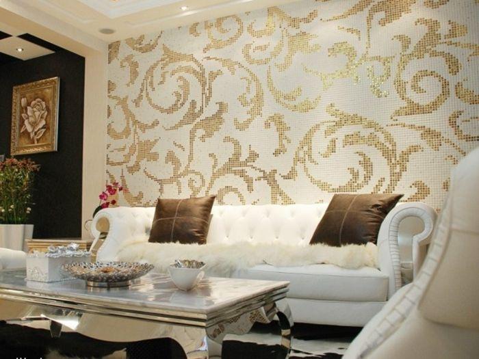 71 Wohnzimmer Tapeten Ideen Wie Sie Die Wohnzimmerwande Beleben