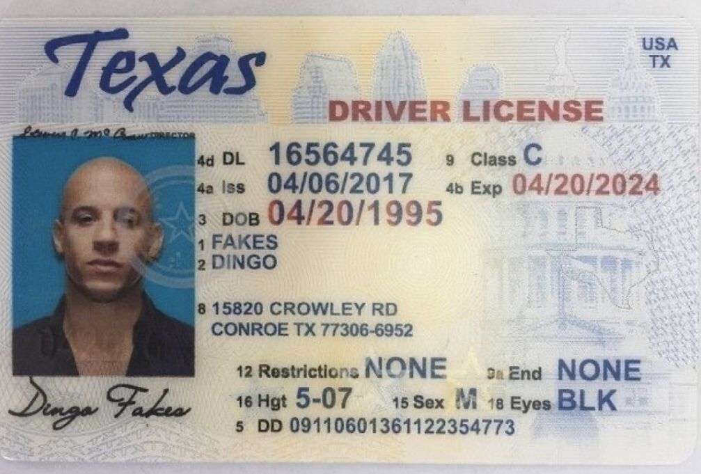 Pin on UK Driver's License