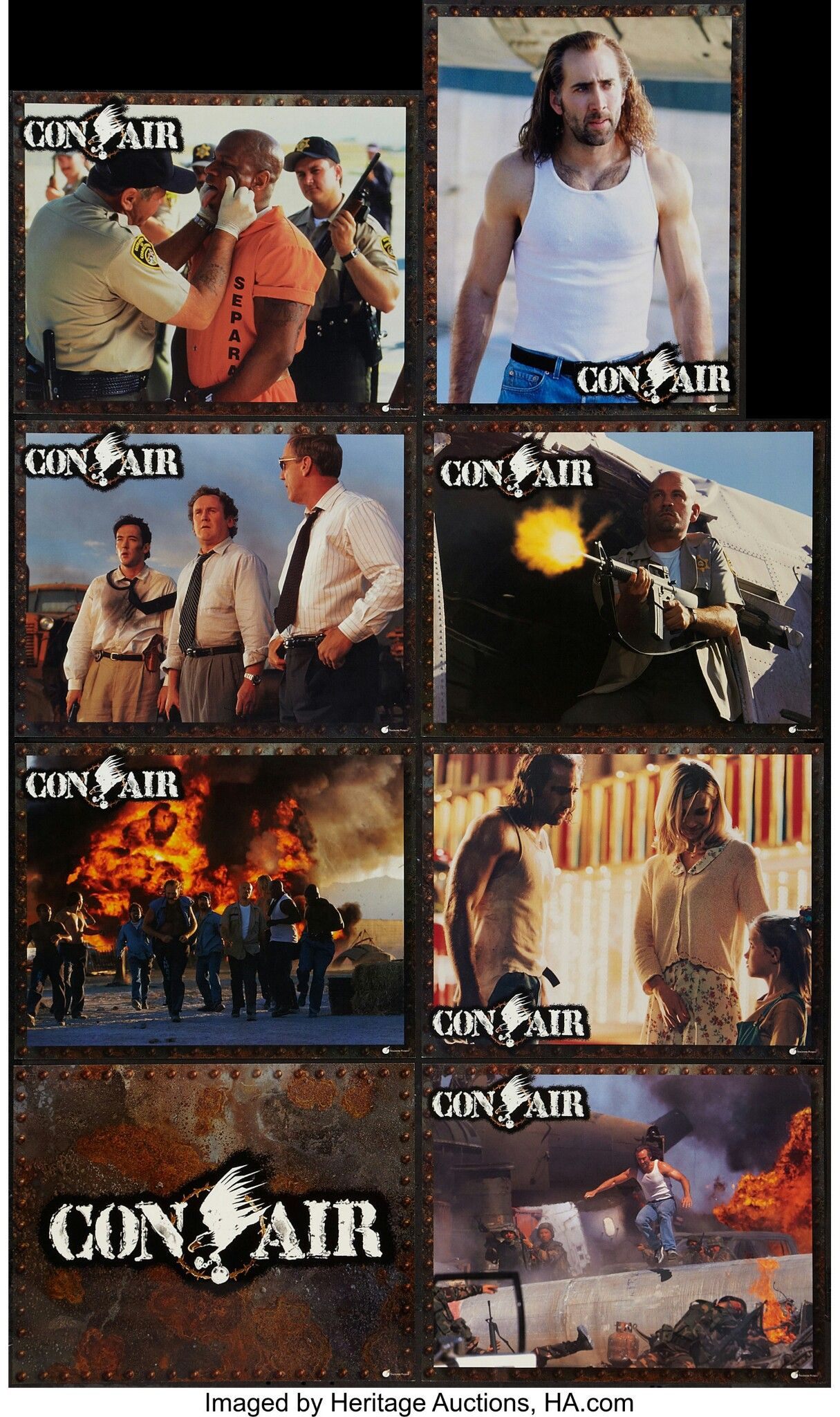Con Air 1997 In 2020 Air Image Lobby Cards Poster
