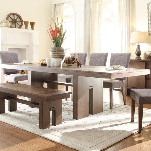 Found It At Allmodern  Terra Vista 8 Piece Dining Set  Az House Interesting 8 Pc Dining Room Set 2018