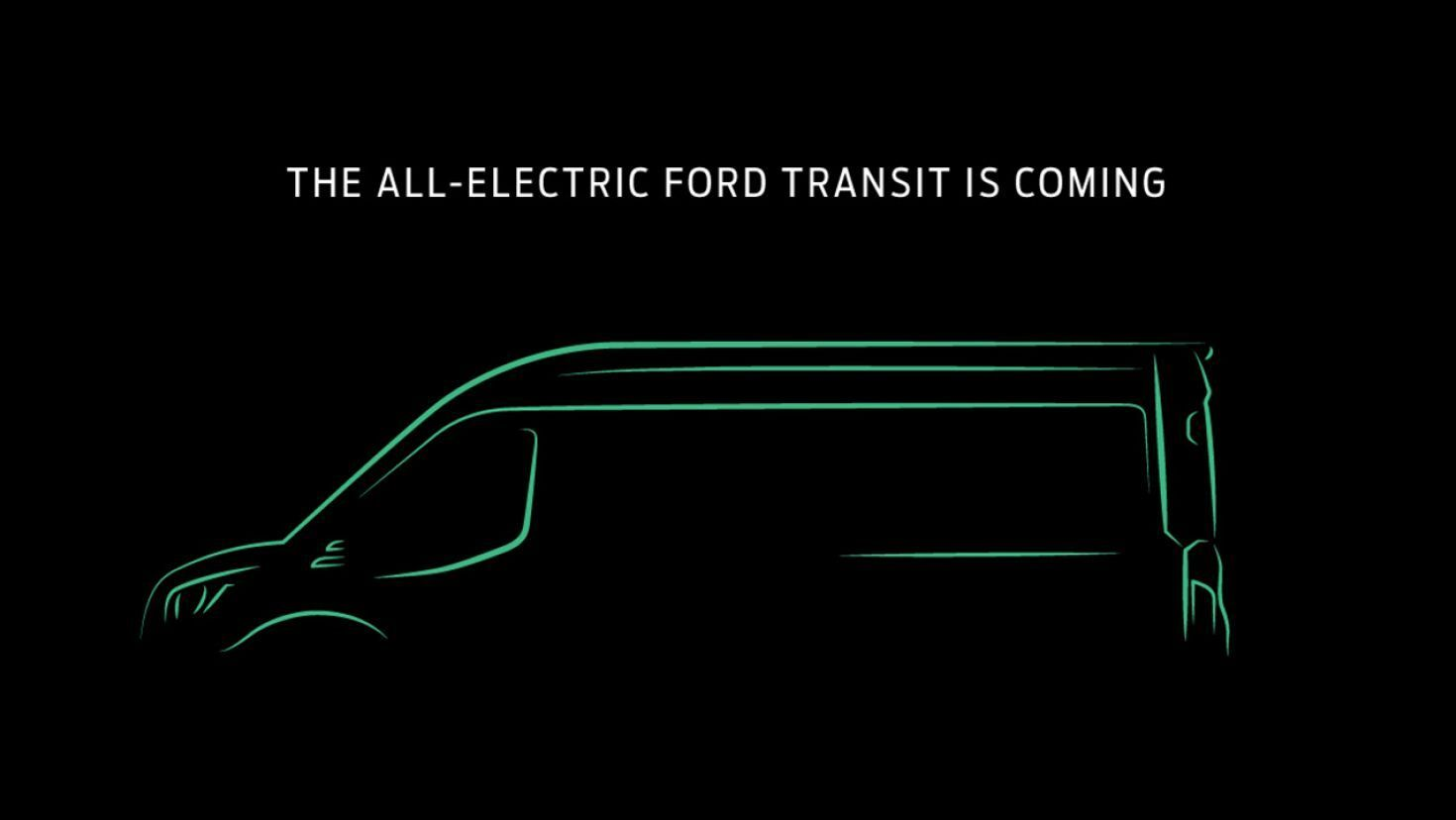 Electric Ford Transit Van Confirmed For 2022 Ford Transit Electric Van Commercial Van