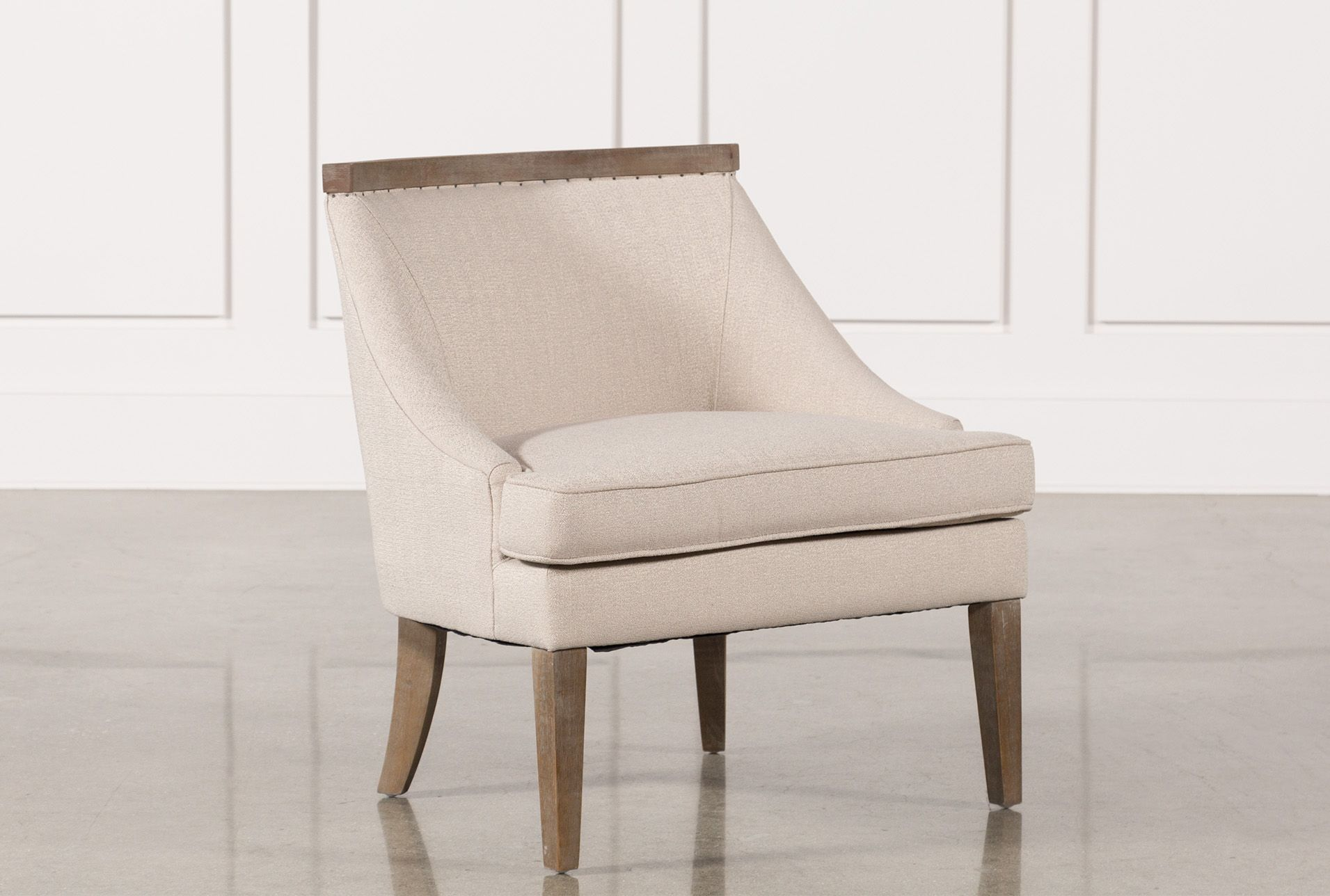 Best Omar Accent Chair Beige Products Accent Chairs Chair 400 x 300