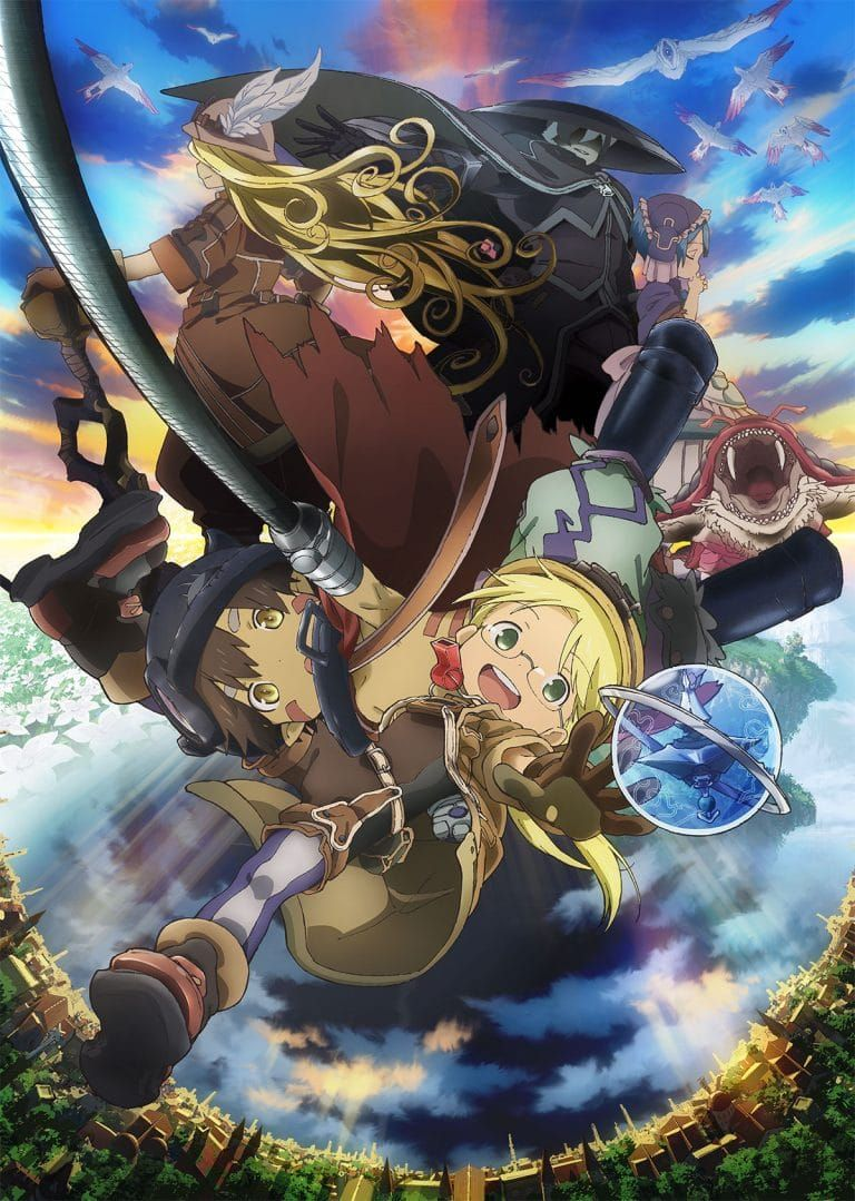 Made In Abyss Season 2 Key Visual Abyss Anime