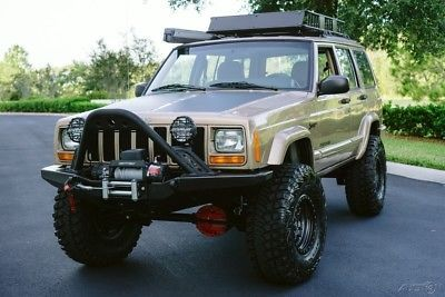 Ebay 2000 Jeep Cherokee Southern Fresh Build N242 Overland Sport