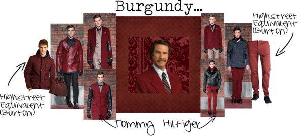 """Burgundy..."" by kimearls on Polyvore"