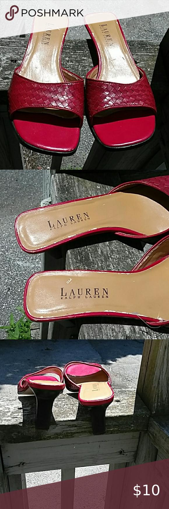 Lauren Ralph Lauren Shoes Size 10 Gold Metallic Synthetic