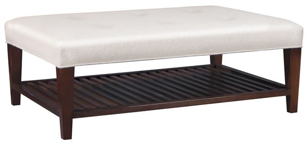 Stickley Furniture   Bethpage Cocktail Ottoman