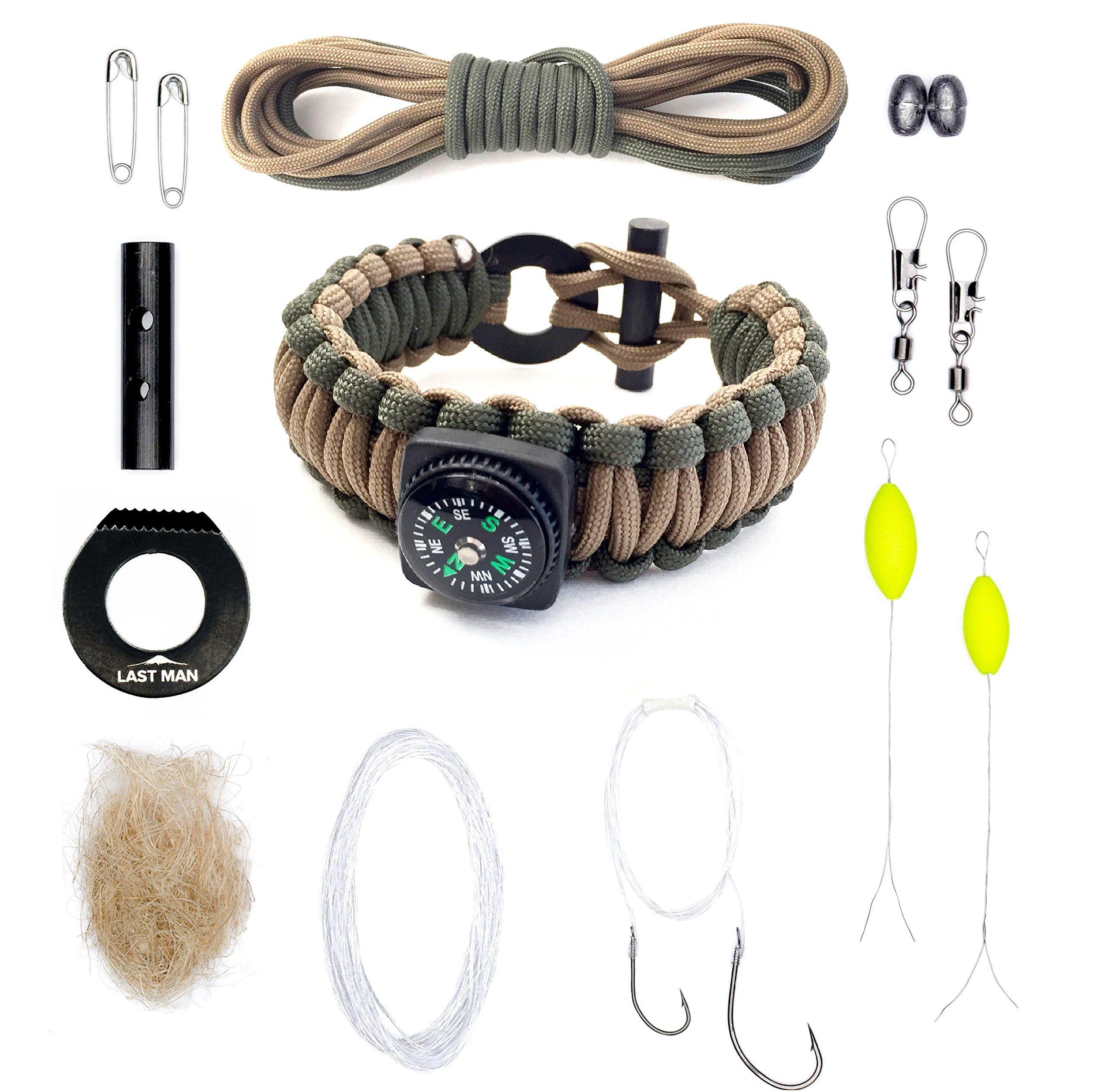 Amazon Com The Ultimate Paracord Survival Kit Bracelet By Last