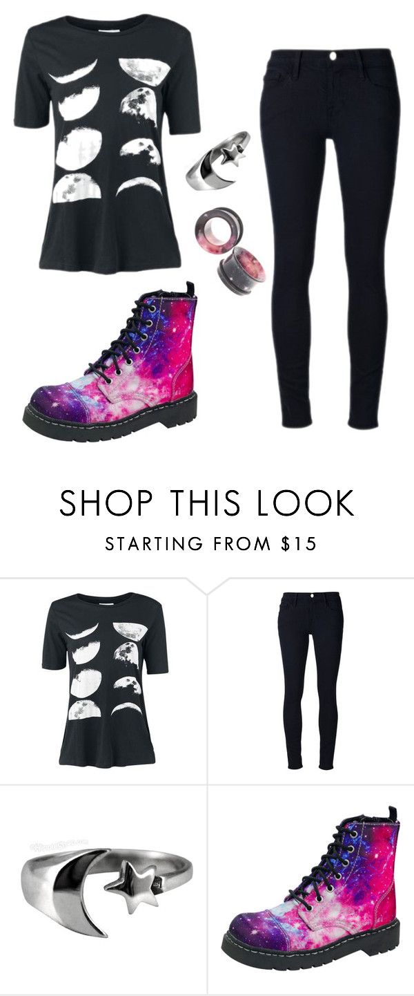 """quick set"" by coffeeismysoul ❤ liked on Polyvore featuring Frame Denim and T.U.K."