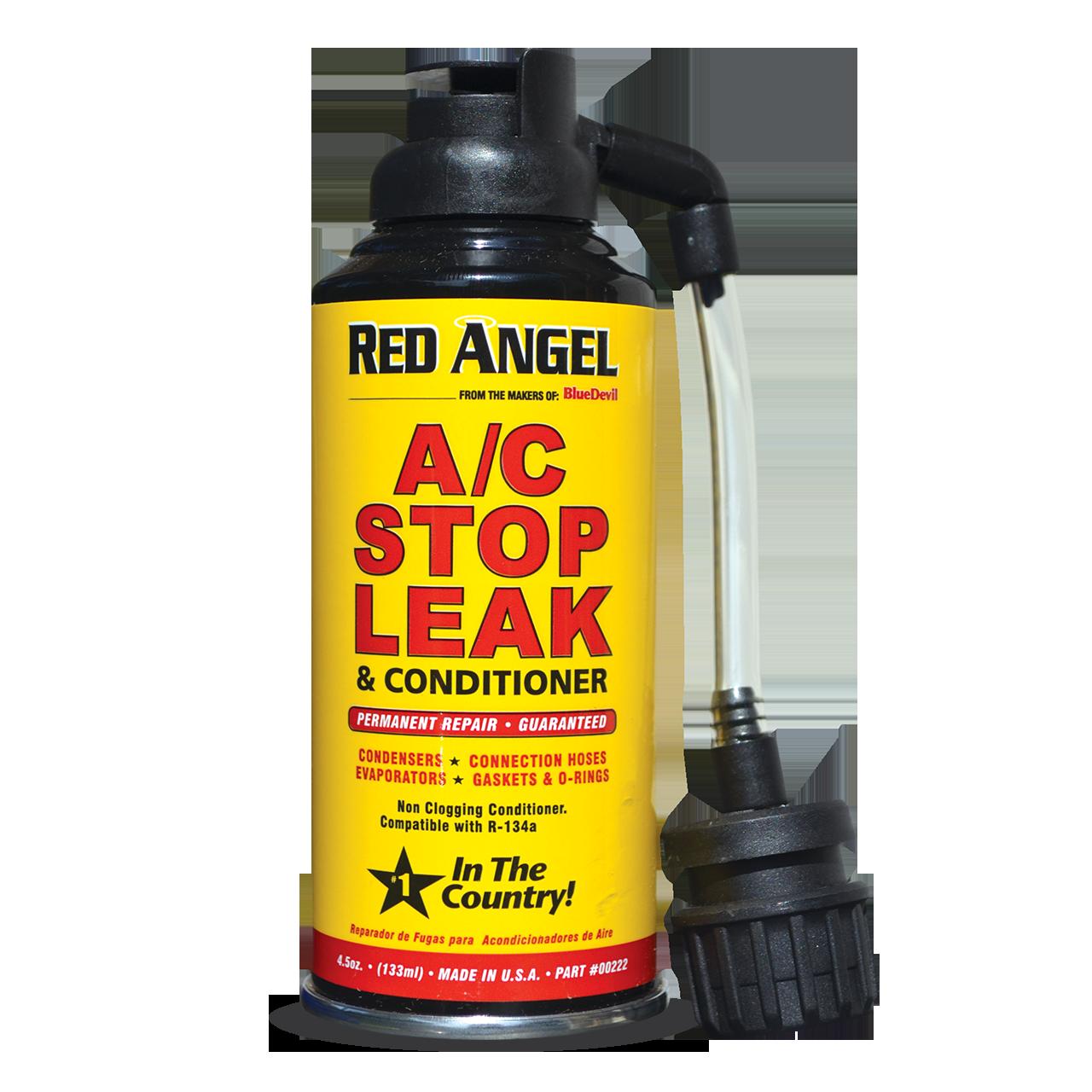 R134a Stop Leak One Shot Product BlueDevil Leak repair