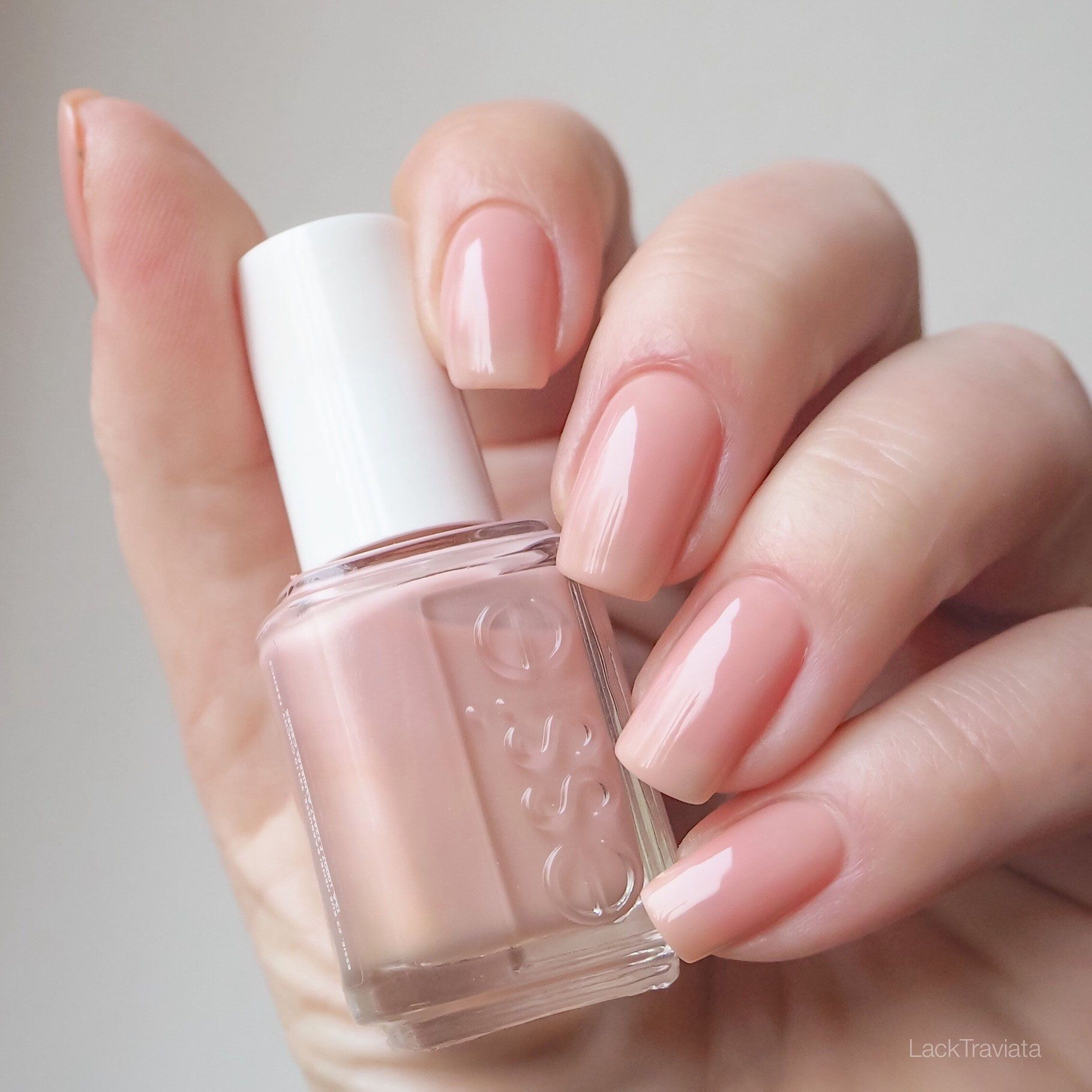 essie • not just a pretty face • the perfect nude