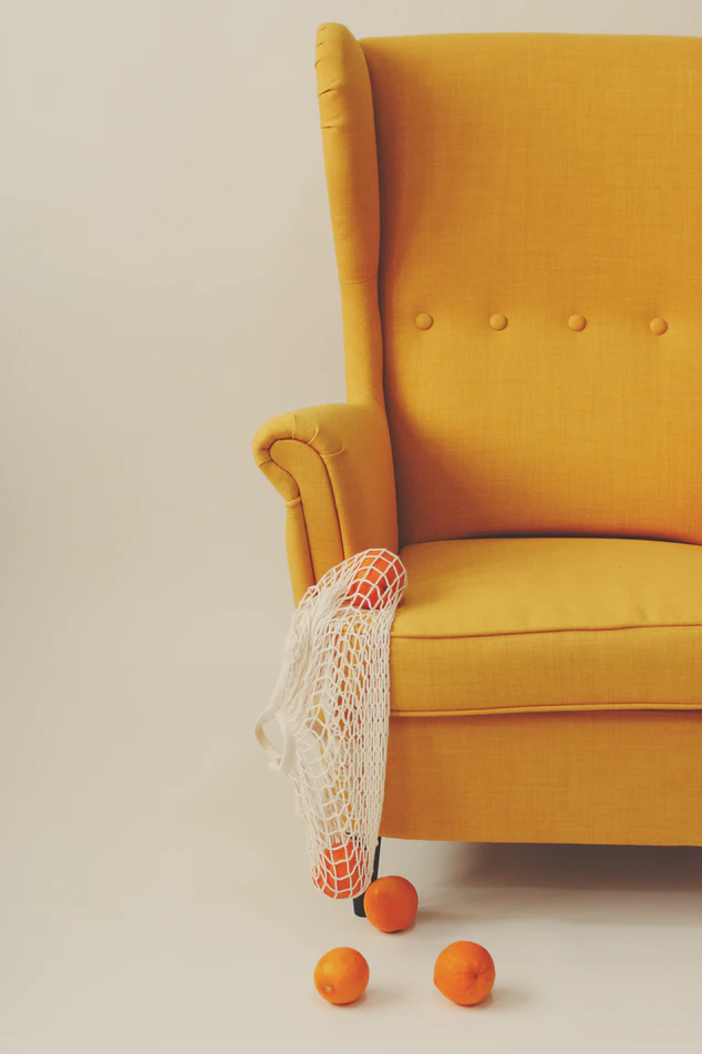 Yellow And White Sofa Chair Photo Free Furniture Image On Unsplash In 2020 Chair Free Furniture Yellow Armchair
